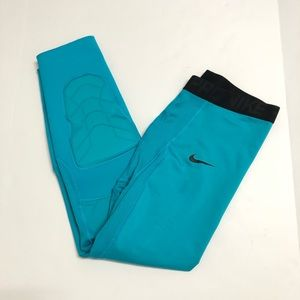 Nike Pro NBA Hyperstrong Padded Tights 3/4 Hornets